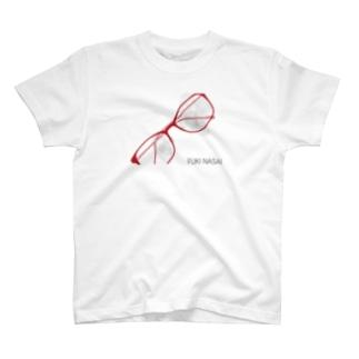 あほちゃんメガネT-指紋 T-shirts