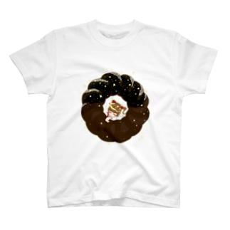 幼女とチョコレートドーナツ T-shirts
