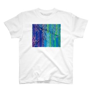 雨ザーザー T-shirts