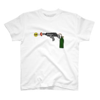 ぴえん放射器 T-shirts