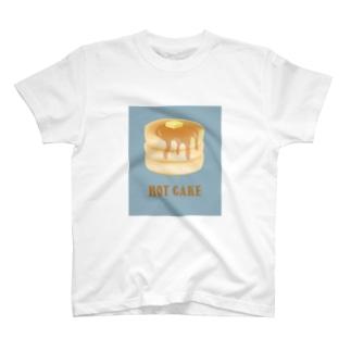 ホットケーキ メープルシロップのTシャツ T-shirts