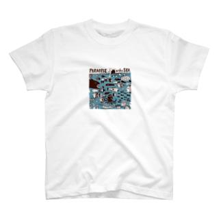 The Eight Wood Marketの海の中(カラー) T-shirts