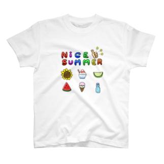 ナイス☆サマー! T-shirts