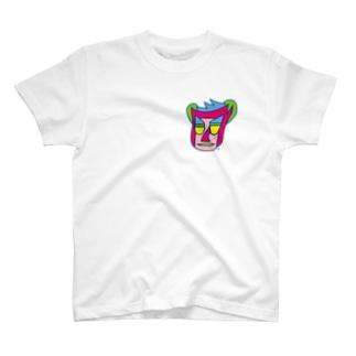 半笑い犬 T-shirts