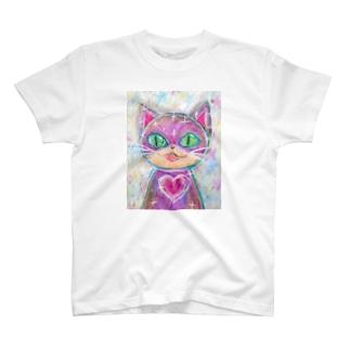 キュートハート・キャット T-shirts