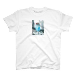 喫茶店のクリームソーダ T-shirts