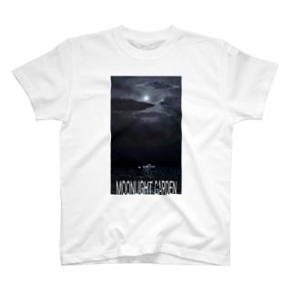moonlight garden 02 T-shirts