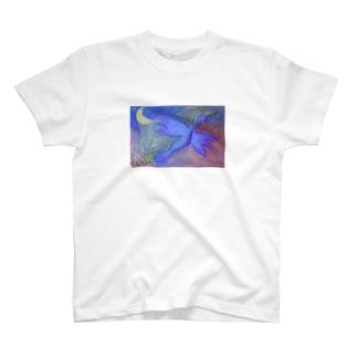 Chisato 羽ばたくトリ T-shirts