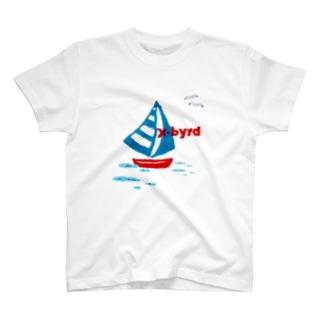 X-BYRD号 T-shirts