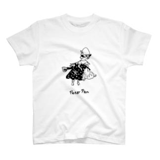 三十路を過ぎたピーターパン Tシャツ T-shirts