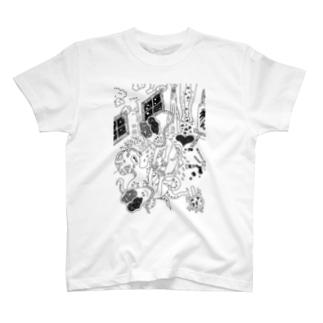 もう一人の自分🔪 T-shirts
