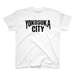 横須賀 YOKOSUKA ヨコスカシティ T-shirts