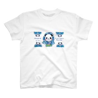 アマビエ ニンキモノパンダ T-Shirt