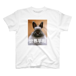 世界平和を願うギンちゃん T-shirts