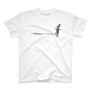 バスクラリネットさん T-shirts