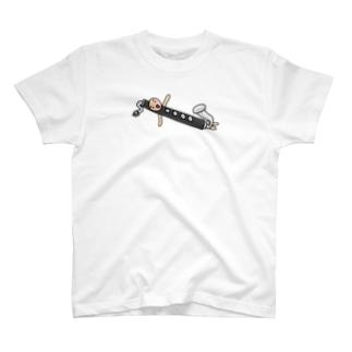 バスクラリネットさんこんにちは T-shirts