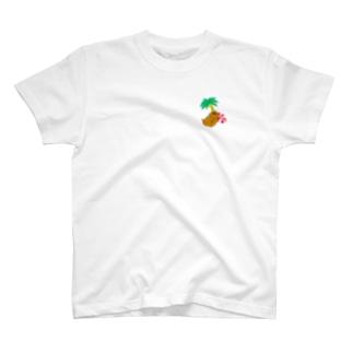 トロピカルモルモット(背景なし) T-Shirt