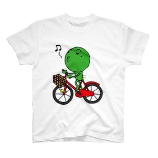 チャリ枝豆 T-shirts
