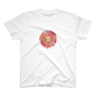 フトマニ(赤) T-shirts