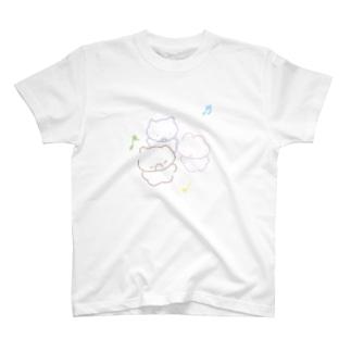 kumanekousa-chan T-shirts