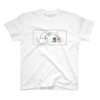 いぬけんの日常 T-shirts