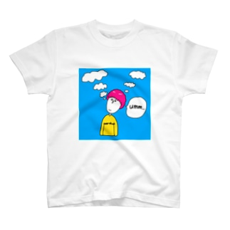 考えすぎな人 T-shirts