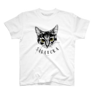 サバトラ(SABATORA) T-shirts