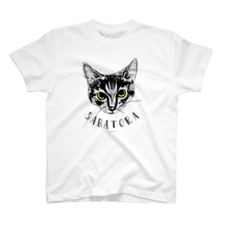 miuのサバトラ(SABATORA) T-shirts