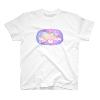 ゆめみるうさぎ T-shirts