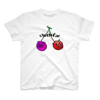 チェリーキャット T-shirts