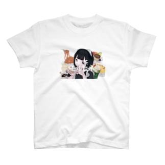 喫茶モルヒネ T-shirts