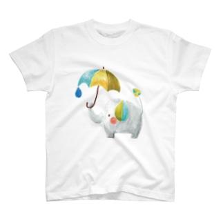 雨ふりぞうさん1 T-shirts