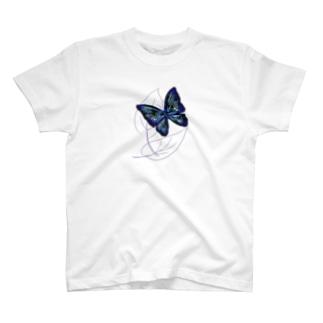 黒蝶 T-shirts