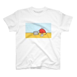 おしごとえび寝 T-shirts