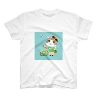 夏のマロンくん T-shirts