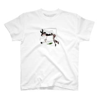 Drunk bunny girl T-shirts