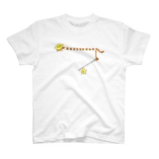 スティッチひよこ T-shirts