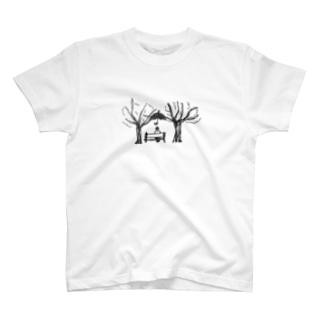 ハンズフリーのひと T-shirts