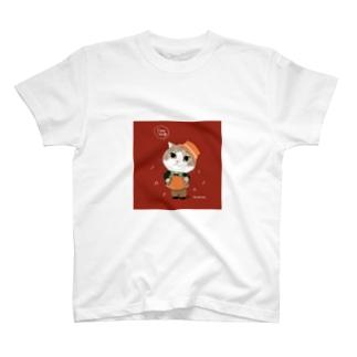 アコーディオンマロンくん T-shirts