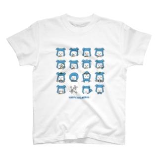 忍者犬たろうくん_絵文字 T-shirts