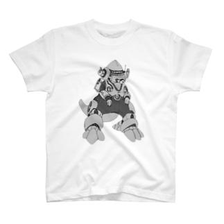 M=らくがき-かいじゅう‐DA T-shirts