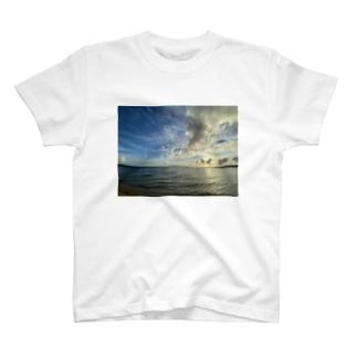 あの日の夕焼け空 T-shirts