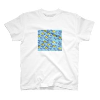 海中魚群 T-shirts