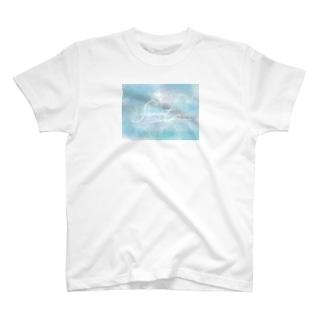 ハワイアンブルーふわたろ T-shirts