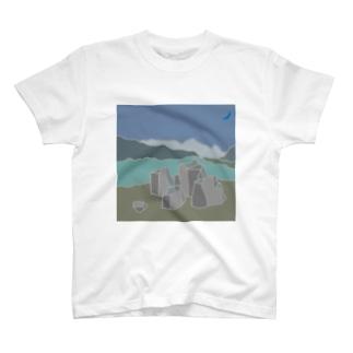 P&B=ストーン6-1 T-shirts