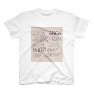 様々なMAORI T-shirts