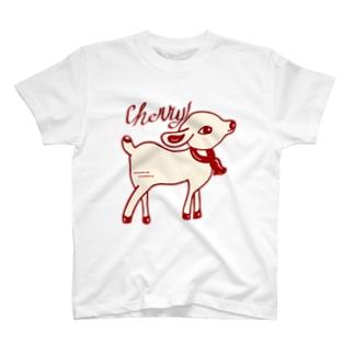 「Cherry🐐」ロシアビリーの仲間たち T-shirts