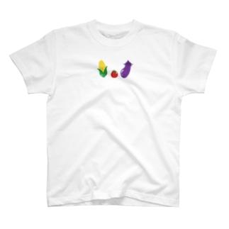 仲良しお野菜 T-shirts