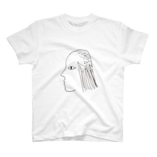 刈り下げテクノ T-shirts