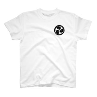 猫紋(にゃもん) 猫巴 T-shirts